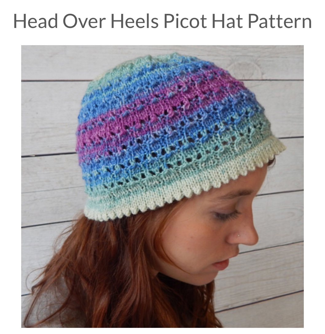208c729ef59 Head Over Heels Picot Hat Pattern - Spotted Sheep