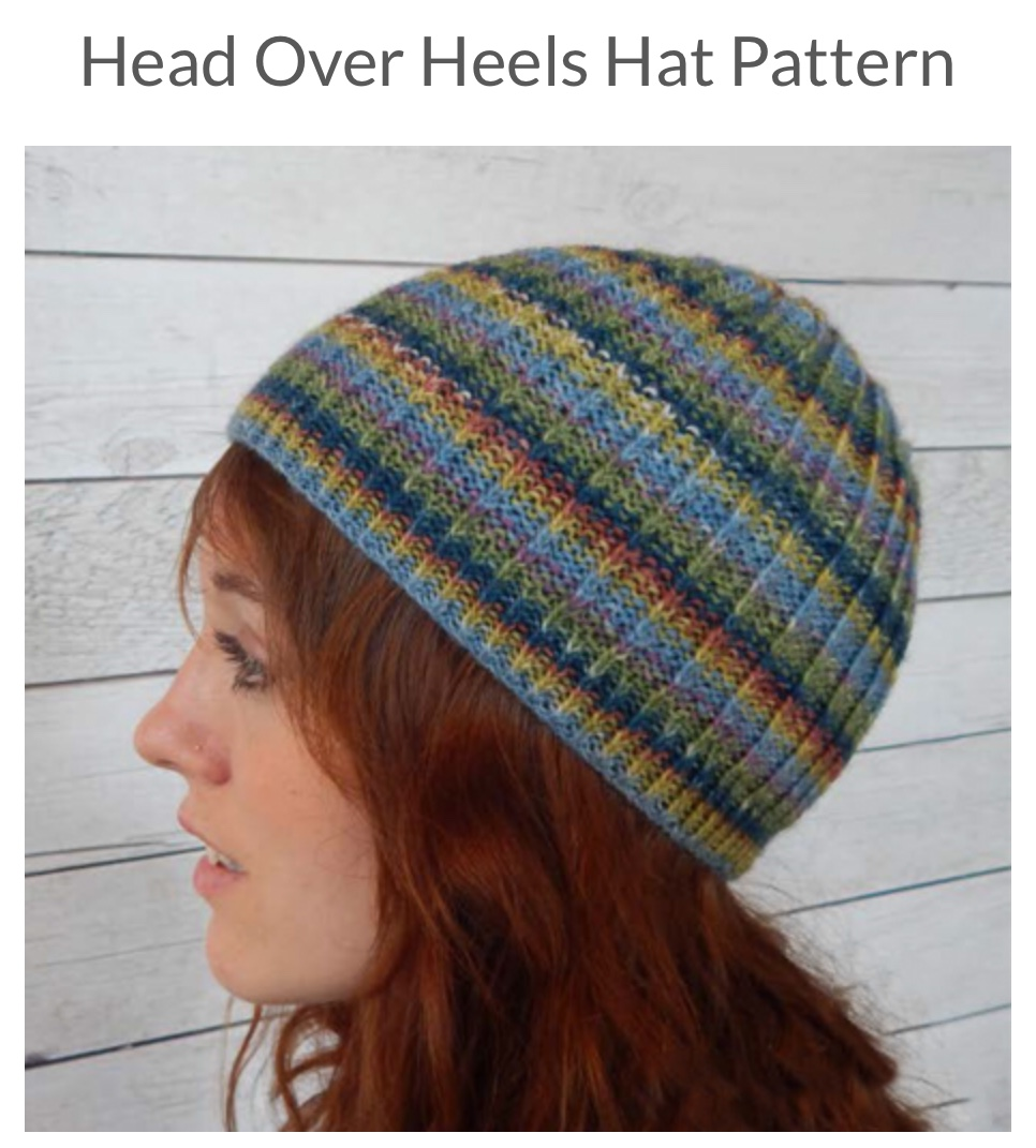 0562fd8957e Head Over Heels Hat Pattern - Spotted Sheep