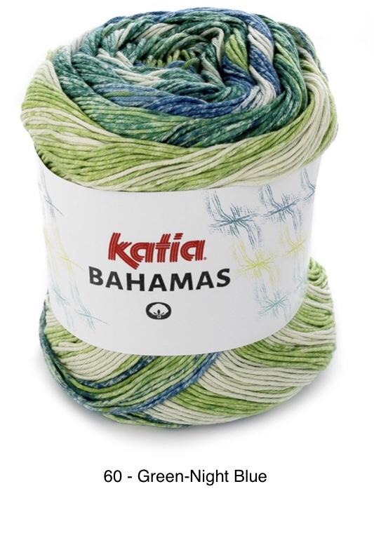 Katia Bahamas - 60 Green-Night Blue