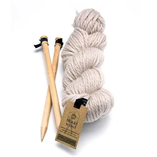 Erika Knight Maxi Wool - Flax 201