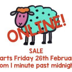 Online Sale!